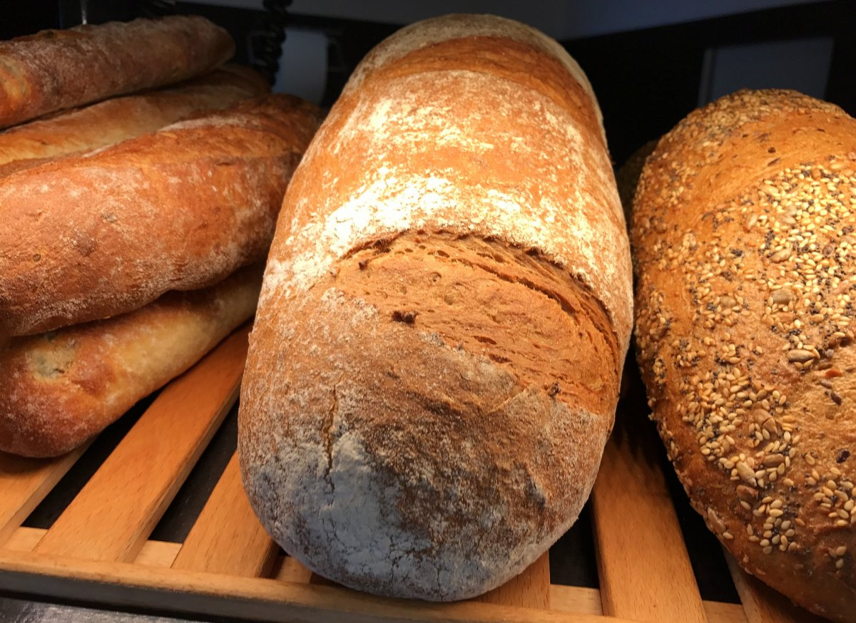 Freshly baked German bread smells delicious