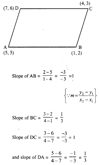 Selina Concise Mathematics Class 10 ICSE Solutions Chapter 14 Equation of a Line Ex 14B 9