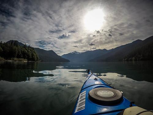 Kayaking on Baker Lake-58