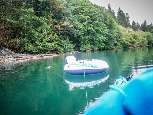 Kayaking on Baker Lake-104