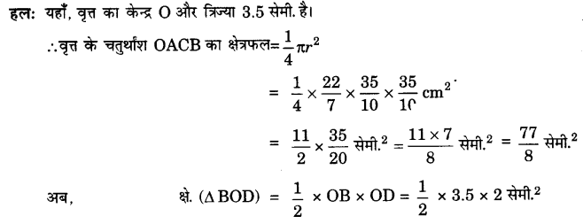 UP Board Solutions for Class 10 Maths Chapter 12 Areas Related to Circles page 257 12.1