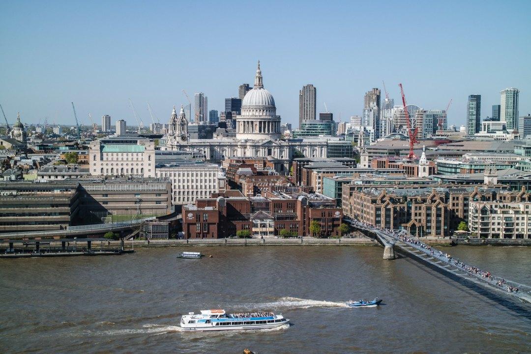 Vista dal Tate Modern