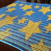 Summer of Baby Blankets, vol. 3 - Star Illusion Blanket