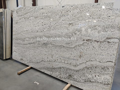White Knight Natural Stone Granite Slab NY