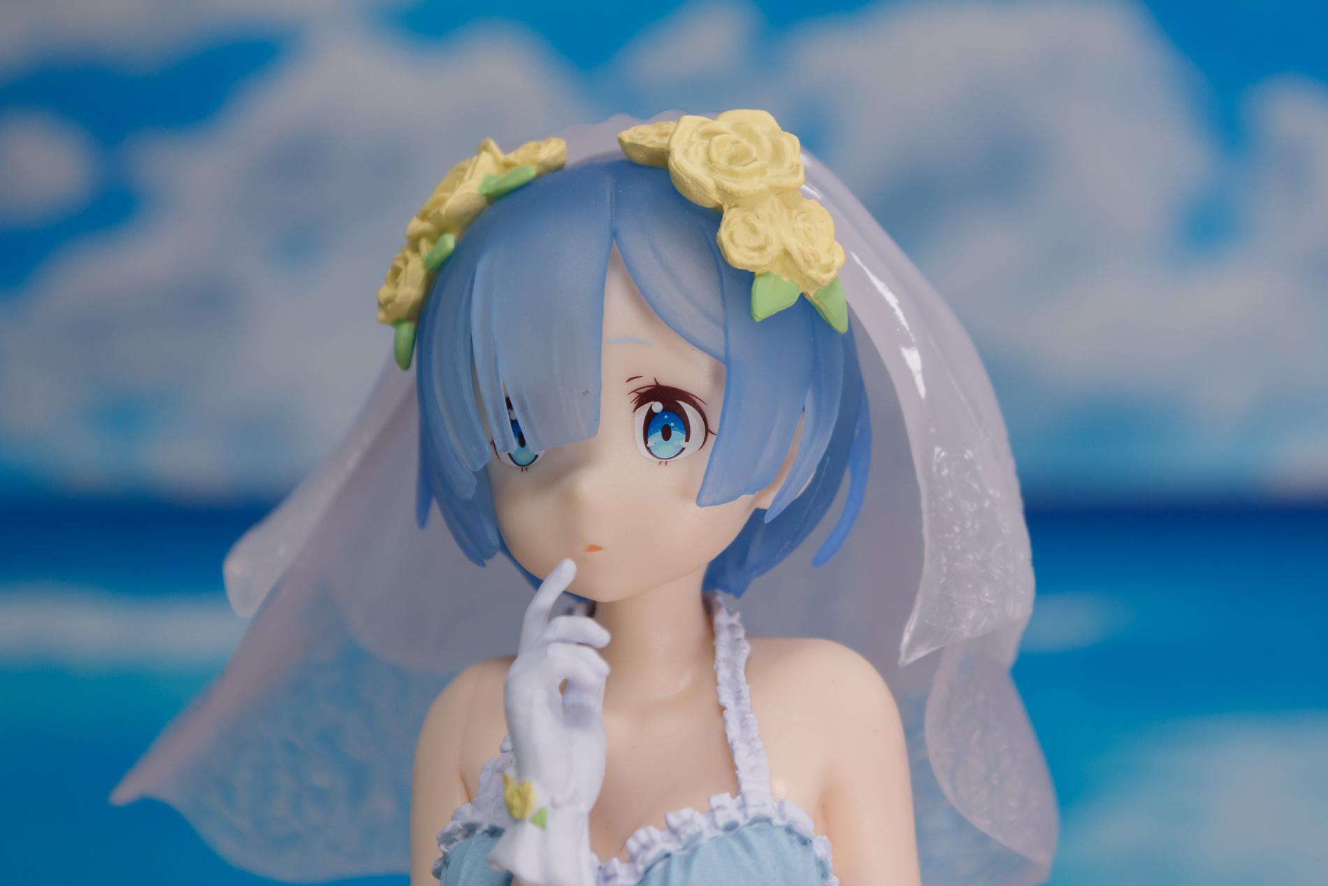開箱 EXQ 景品《Re:Zero》雷姆 : 原來是玩水? 還以為是結婚呢~ - lqc818052的創作 - 巴哈姆特