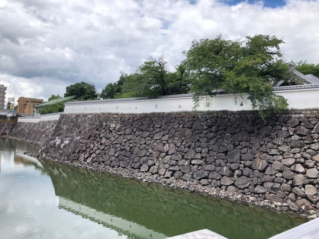Maizuru Castle in Kofu City