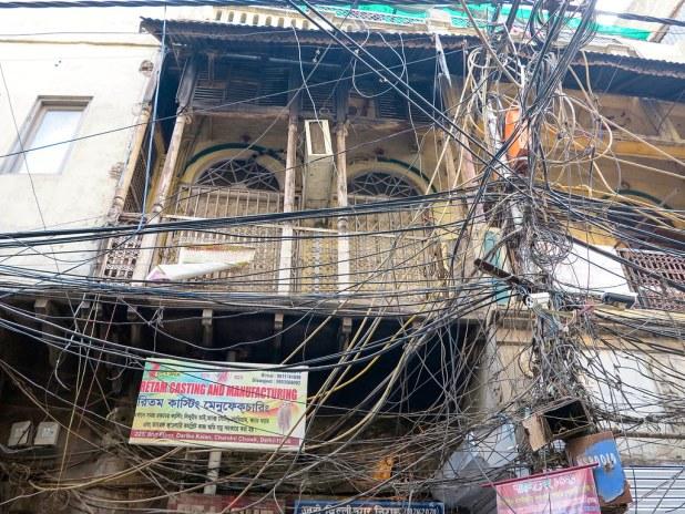 Cableado en India