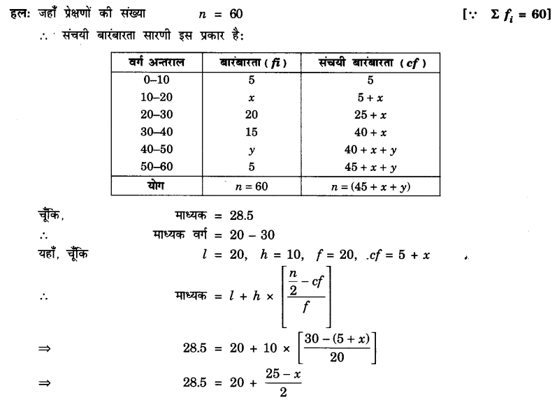 UP Board Solutions for Class 10 Maths Chapter 14 Statistics page 314 2.1