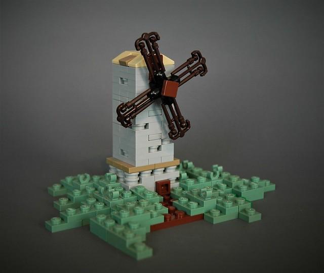 Moulin et baguettes magiques LEGO Harry Potter