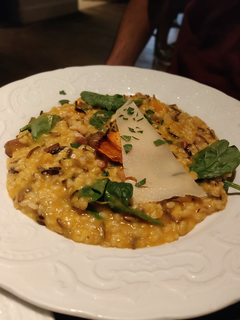 simplylife causeway bay hong kong pumpkin risotto