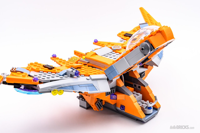 REVIEW LEGO Marvel 76107 Thanos Ultimate Battle 09