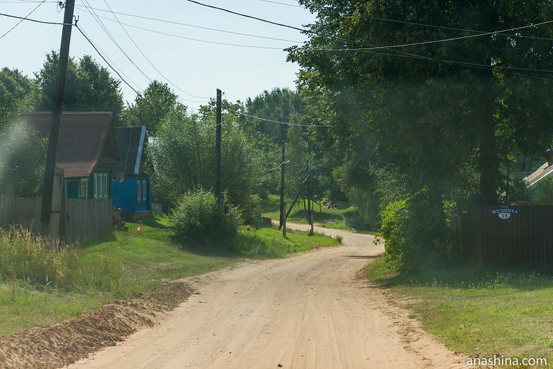 Деревня, Тверская область, озеро Мстино