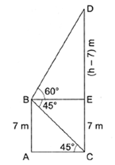 RS Aggarwal Solutions Class 10 Chapter 14 Height and Distance Ex 14a 36