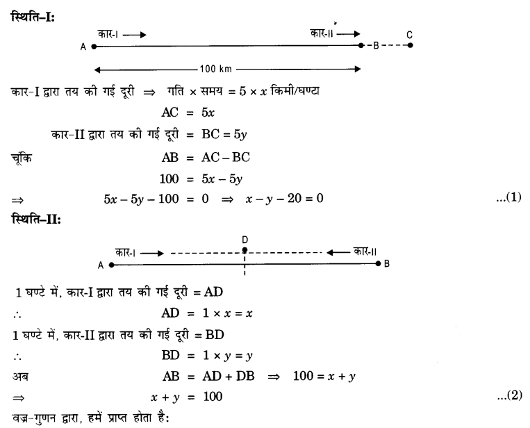 NCERT Solutions for class 10 Maths Chapter 3 Exercise 3.4 in English medium