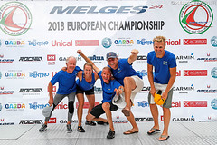 2018 Melges 24 European Championship - Team Photos