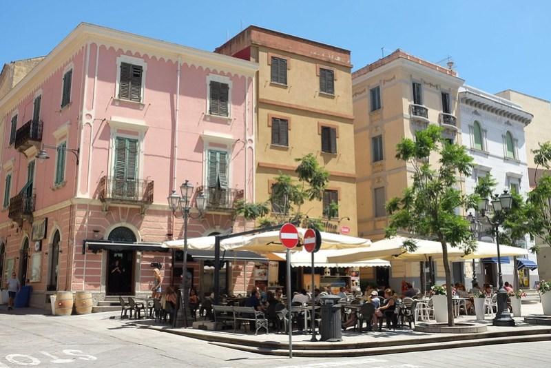 Piazza Regina Margherita in Olbia