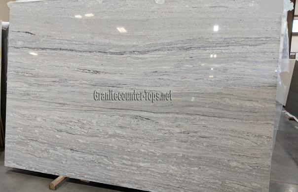 Typhoon White Granite Slabs NY