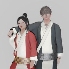 *NAMINOKE*KASASAGI Male Kimono