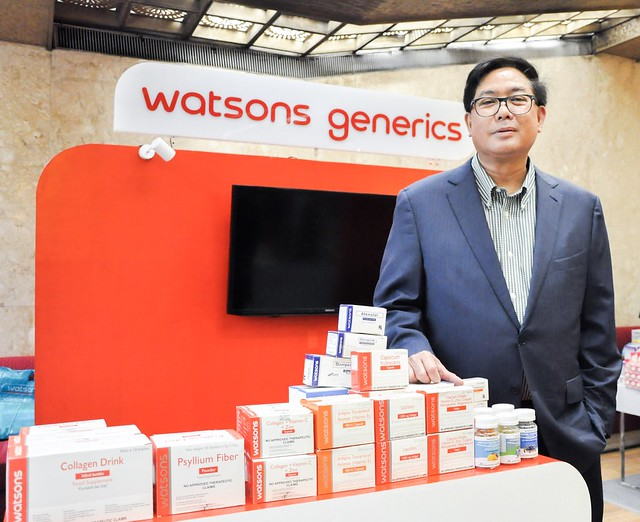 Watsons PH Chief Operating Officer Danilo Chiong