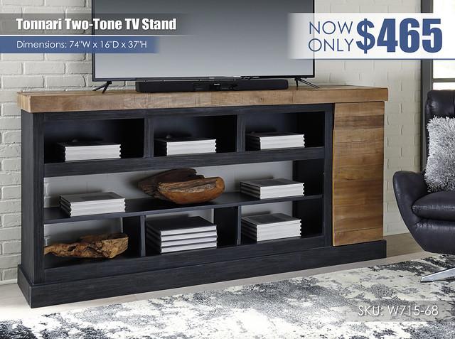 Tonnari Two Tone TV Stand_W715-68