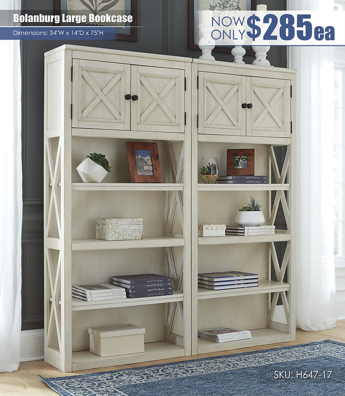 Bolanburg Bookcase_H647-17(2)