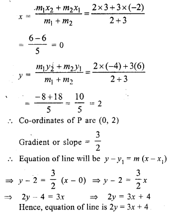 Selina Concise Mathematics Class 10 ICSE Solutions Chapter 14 Equation of a Line Ex 14E 24