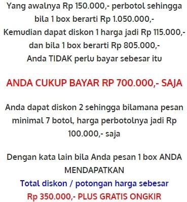 gratis ongkos kirim ke seluruh Indonesia