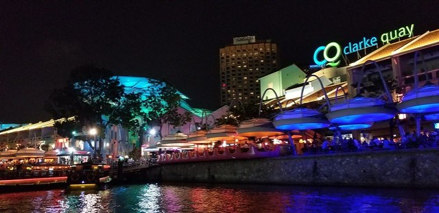 7b. Singapore Night Tour Gardens by the Bay, Marina Bay Sands SkyPark, and River Cruise