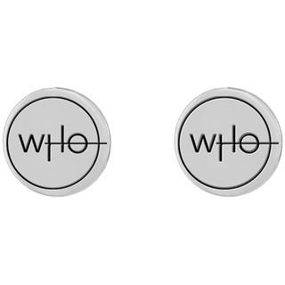 insignia earrings
