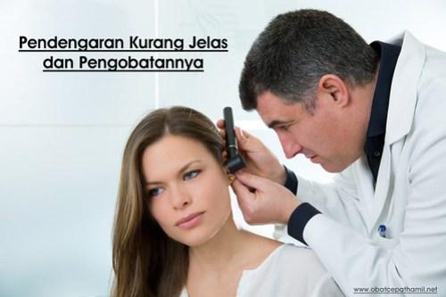 Obat Pendengaran Kurang Jelas