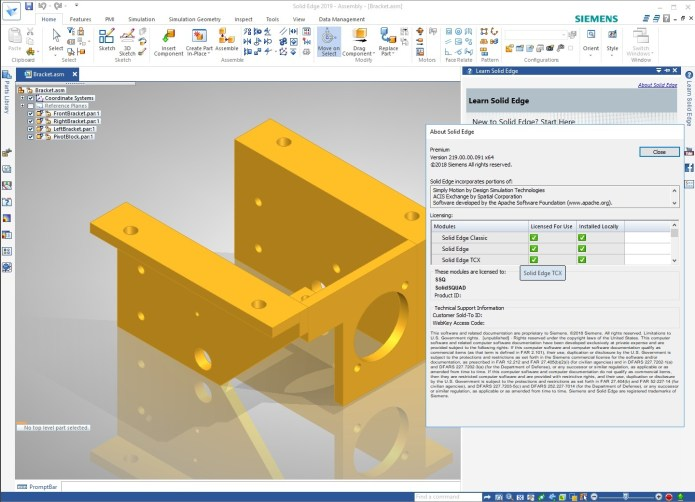 Design with Siemens Solid Edge 2019 Multilang Win64 full crack