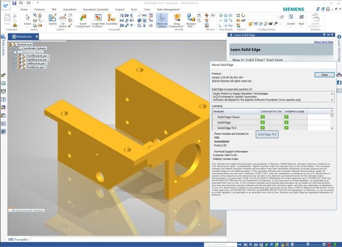 Design with Siemens Solid Edge 2019 Multilang Win64 full crack