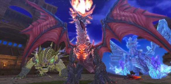 Refrán de resonancia brillante - Dragones