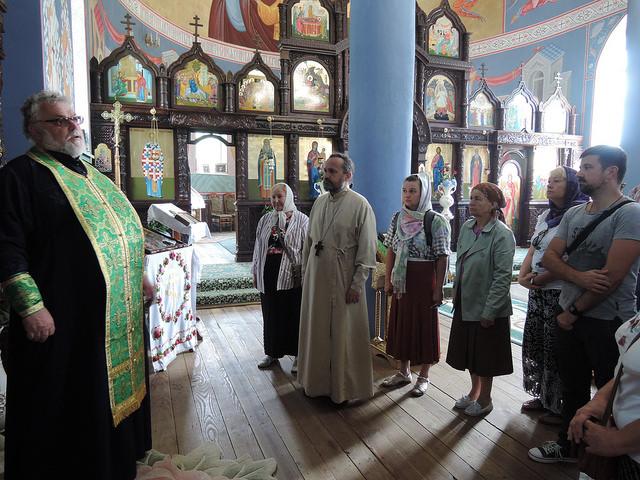 Храм св. Димитрия Солунского, Малая Уголька, Закарпатье