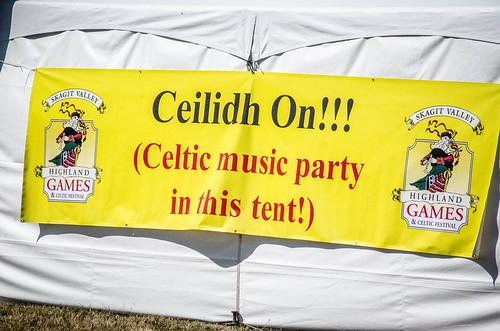 Ceilidh Tent