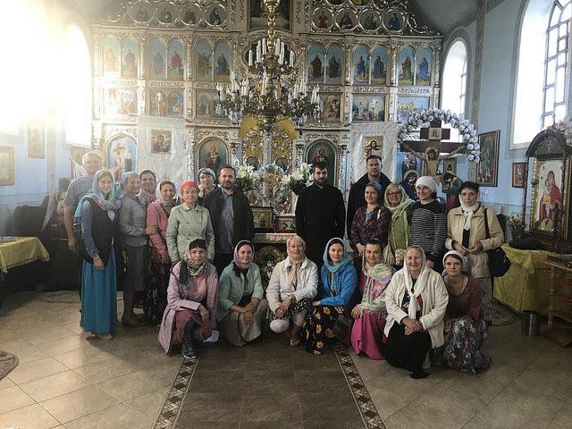 Храм Почаевской иконы Божией Матери в Чинадиево