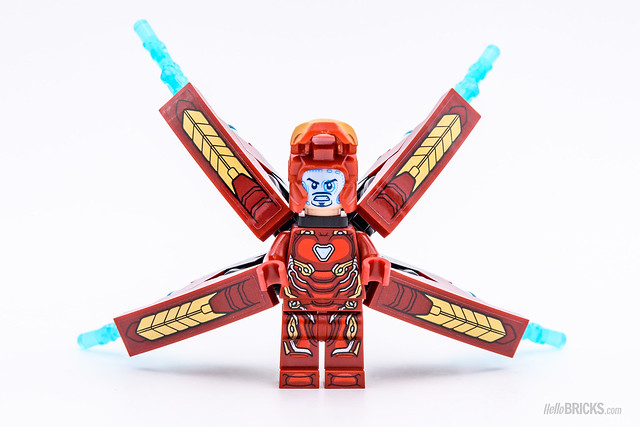 REVIEW LEGO Marvel 76107 Thanos Ultimate Battle 05