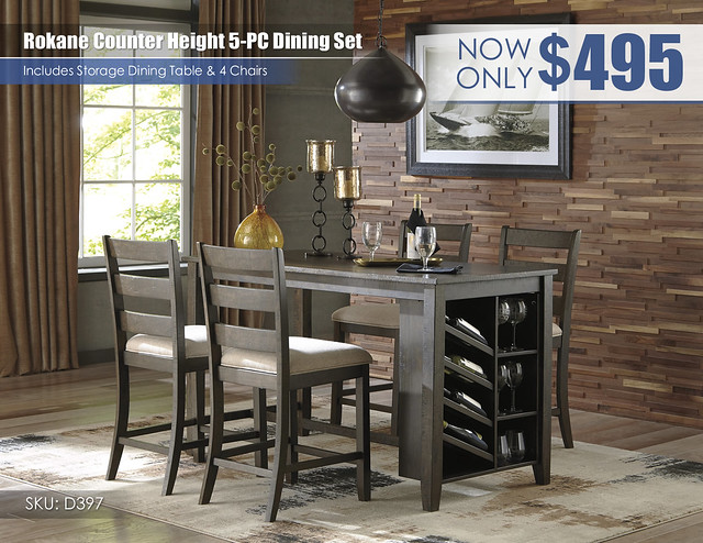 Rokane Counter Height Dining Table Set_D397-32-124(4)