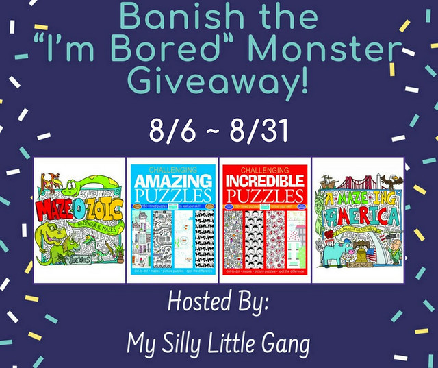 "Banish the ""I'm Bored"" Monster Giveaway"