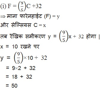 Class 9th Maths NCERT Linear Equations in Two Variables Solutions Hindi Medium 4.3 8.1