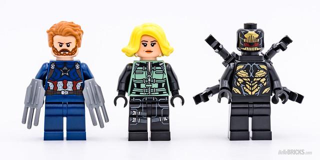 REVIEW LEGO Marvel 76101 Outrider Dropship Attack 1