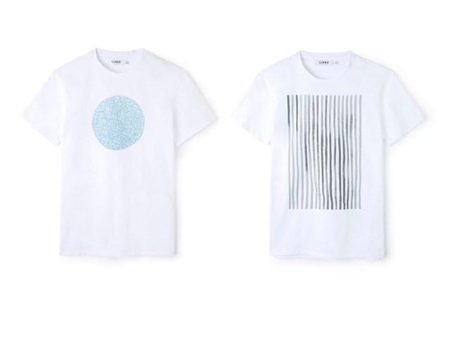 Camisetas blancas para hombre