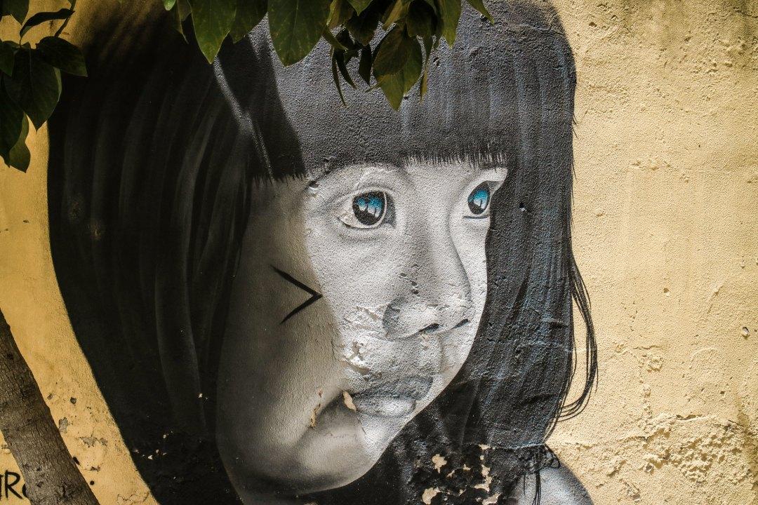 Street art LX Factory, Lisbona