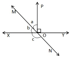 Maths NCERT Solutions Class 9 Lines and Angles Hindi Medium 6.1 2