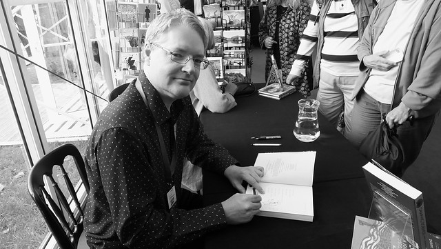 Edinburgh International Book Festival 2018 - Darryl Cunningham 02