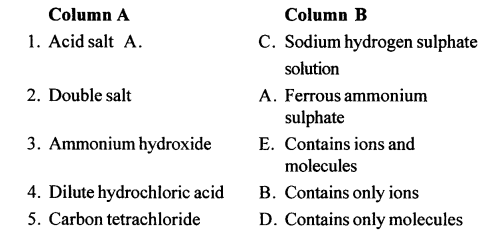 New Simplified Chemistry Class 10 ICSE Solutions - Acids