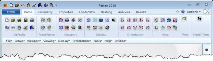 Working with Patran 2018 x64 full license