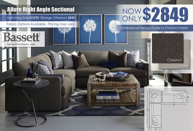 Allure Bassett Right Angle Sectional