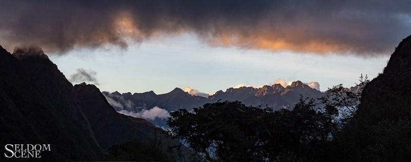 Urubamba sunset