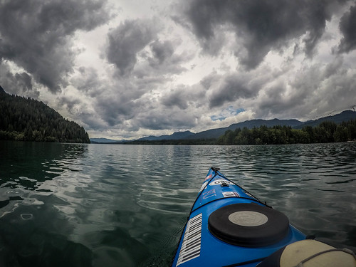 Kayaking on Baker Lake-161